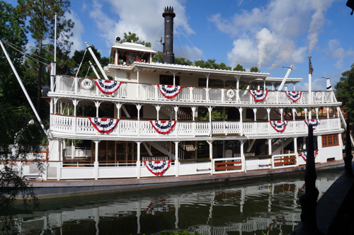 Step back in history, and snap a shot of the 1800s Mississippi River steamboat, the Liberty Belle.