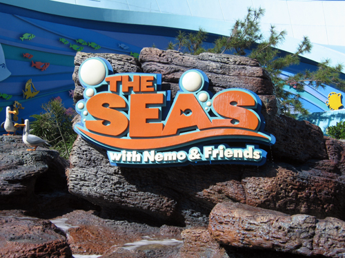 The Seas is home to Nemo & Friends and dozens of other live fish for guests to see!