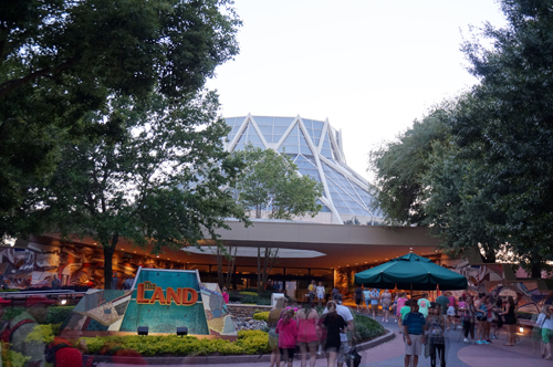 The Land is one of the most environmentally conscious buildings in all of Disney World.