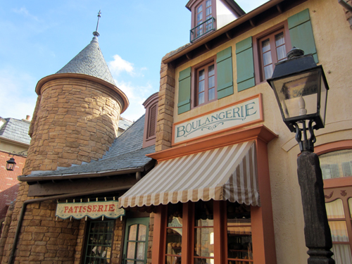 This traditional French architecture in Epcot's World Showcase is very photogenic.