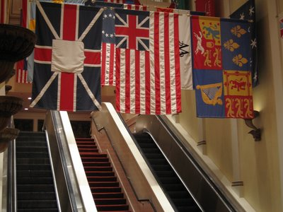 American Adventure Escalators