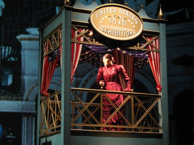 American Adventure Suffrage