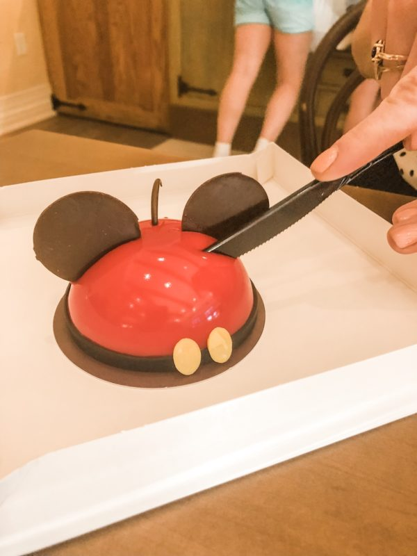 Mickey Mousse from Amorette's Patisserie