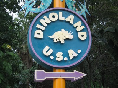 Animal Kingdom Dinoland