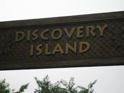 Great shopping, attractions, and fun await in Discovery Island.