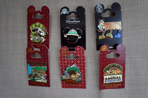Here is your chance to win six great pins celebrating Disney's Animal Kingdom!