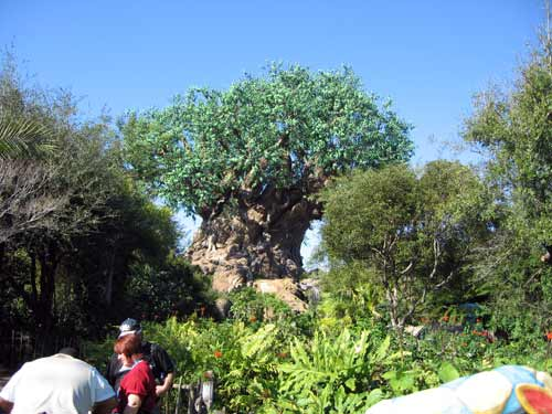 The Tree of Life is a massive Imagineering marvel.