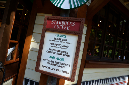 It's Starbucks - you know what to expect.