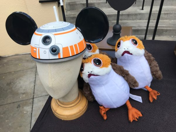 Who else wants a Porg? Plus, BB8 ear hat. Nice.