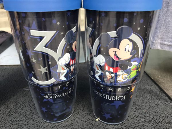 The same logo and design ideas carry over to this tumbler.