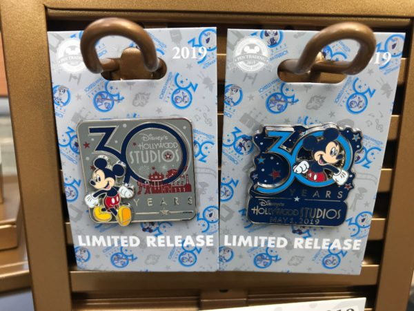 These limited release pins also feature Mickey.