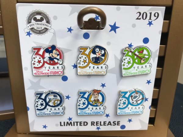 This pin trading set features Mickey and Pixar and Star Wars characters, plus Kermit the Frog!