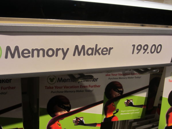 Annual Passholders also get the Memory Maker for free all year!
