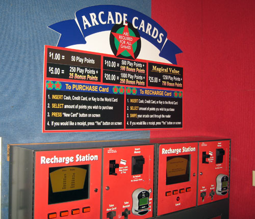 Disney is removing chargeable arcade cards.