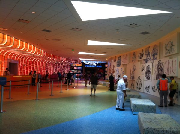 Disney's Art of Animation is getting a new floor, and it will be done by September 7th!