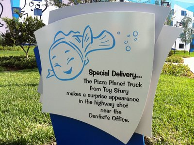 Art Of Animation Walkway Signs