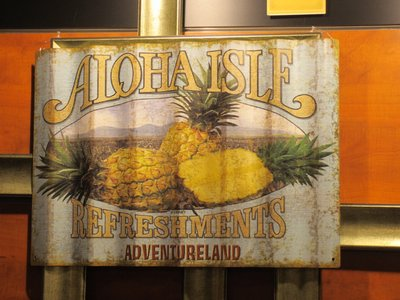 The Aloha Isle sign that you can buy.