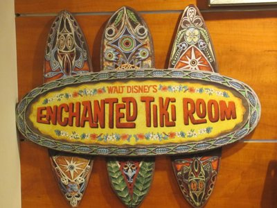 The Tiki Room sign that you can buy.  Note the shields.