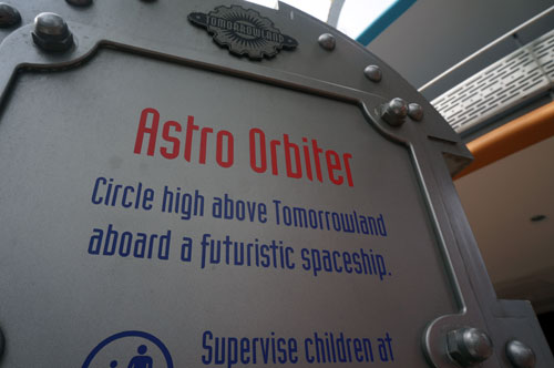 Let's take a spin on the Astro Oribiter.