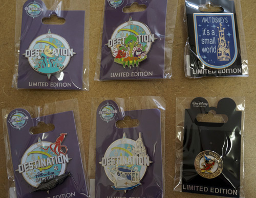 You can win all six of the rare, limited edition Disney Trading Pins.