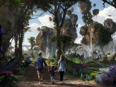 New art shows how Pandora comes to life. Photo credits (C) Disney Enterprises, Inc. All Rights Reserved