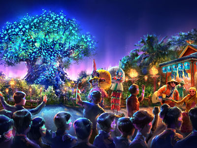 A new nighttime experience will make Animal Kingdom a full-day park.