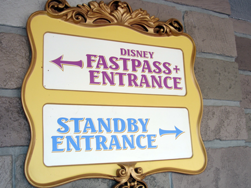 FastPasses can save a lot of time by skipping the standby line.