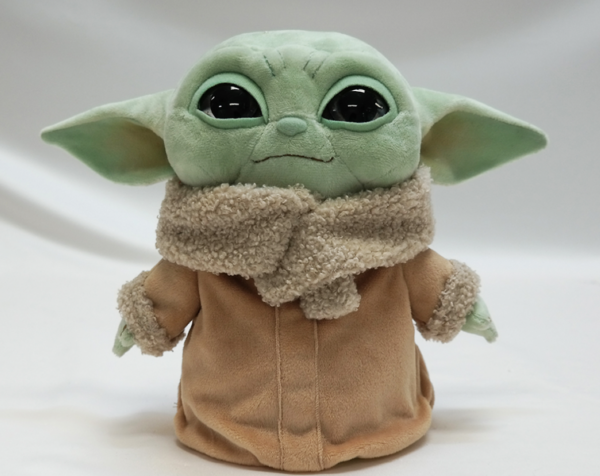 How cute is this Baby Yoda plush?  Photo credits (C) Disney Enterprises, Inc. All Rights Reserved