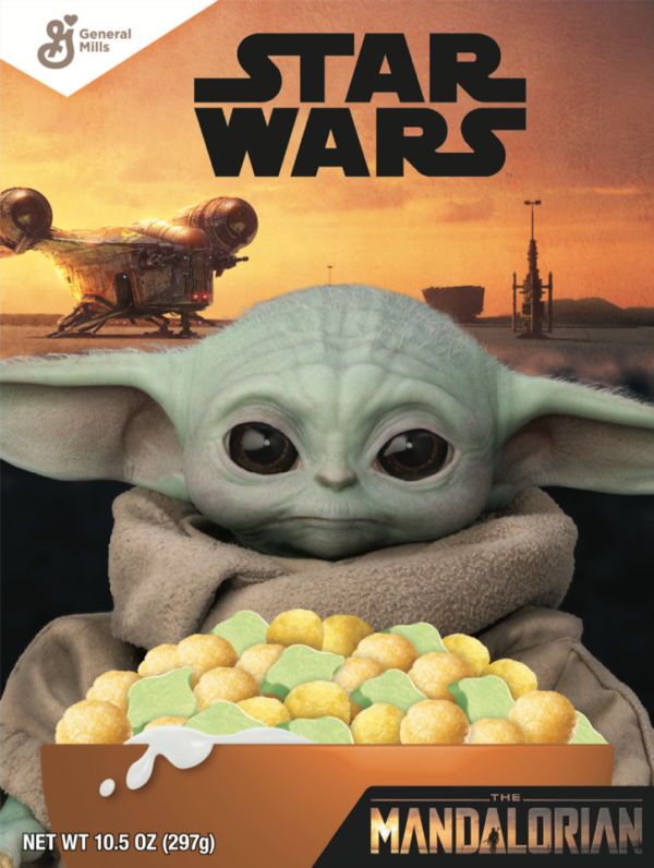 Who else is going to run out and buy Yoda cereal?  Photo credits (C) Disney Enterprises, Inc. All Rights Reserved