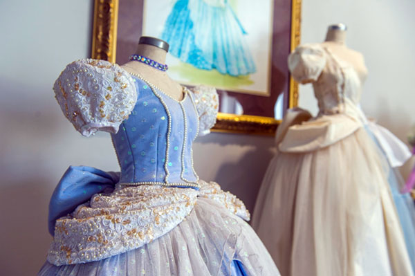 At Creative Costuming, we got to see each step in the creation of Disney's costumes.