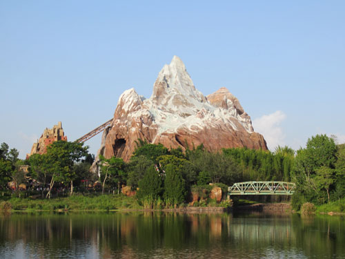 Animal Kingdom - it takes more than a half day!