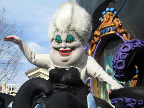 Ursula stole Ariel's voice. Will Disney steal yours?