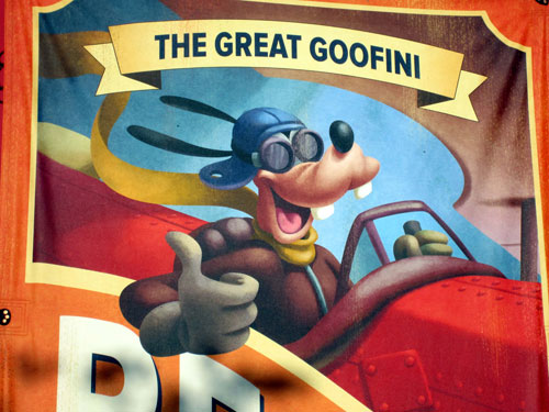 The Great Goofini is a daring stuntman!
