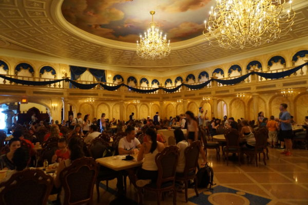 Be Our Guest is getting a menu makeover.