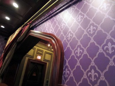 And everywhere you look there are amazing details - from wallpaper to woodwork.