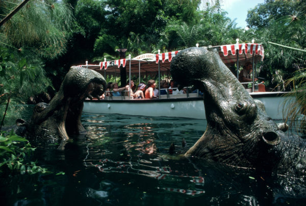It was a race to the finish to complete the first Jungle Cruise attraction. Photo credits (C) Disney Enterprises, Inc. All Rights Reserved