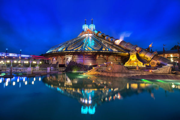 Disney has Space Mountain attractions all around the world, and some are quite different from the others. Photo credits (C) Disney Enterprises, Inc. All Rights Reserved