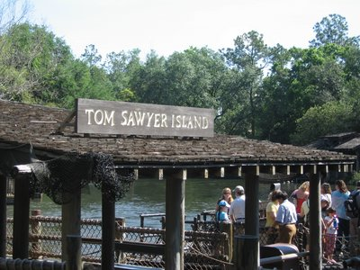"Elementary aged children can actually learn a few things from a trip to Disney World - from information on world cultures to seeing the locations from books like ""Tom Sawyer"" come to life."