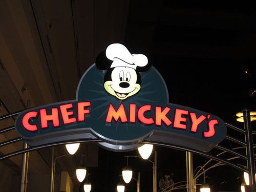 Chef Mickey's is a Disney classic.