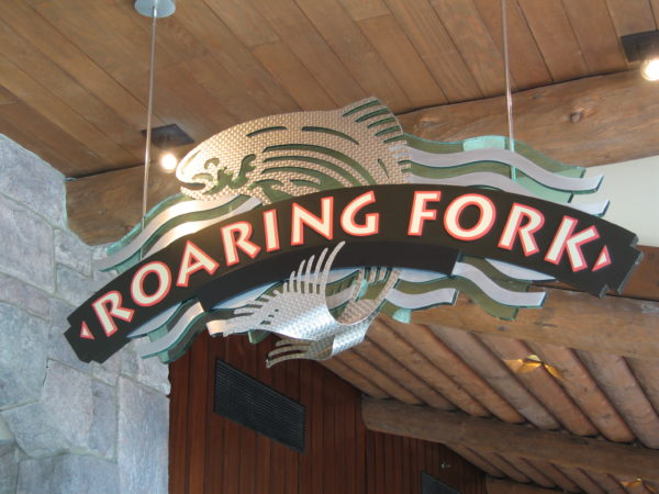Roaring Fork at Disney's Wilderness Lodge is an excellent breakfast location among the deluxe resort hotels.