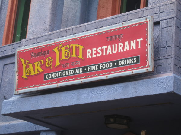 The Ahi Tuna Nachos at Yak and Yeti are a unique take on a classic dish.