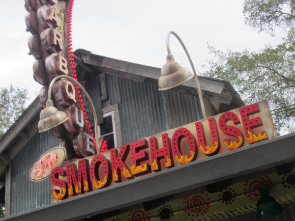 The Smokehouse inside The House of Blues has nachos with a variety of topping options!