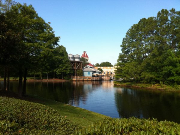 A walk around Port Orleans Resort will really make you feel like you're seeing the best of New Orleans!
