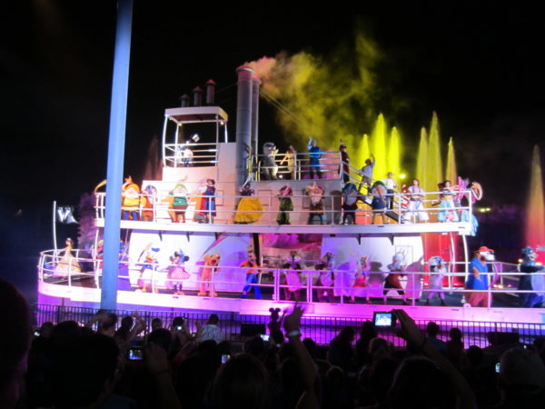 Fantastic has more characters than any other Disney World Nighttime spectacular!