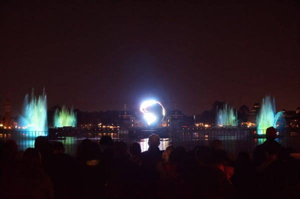 Illuminations is the only nighttime spectacular that doesn't have any Disney intellectual property.