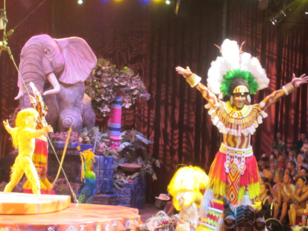 The Festival of the Lion King has a lot of pageantry!