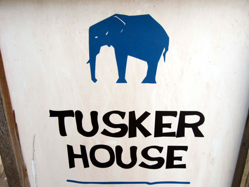 Tusker House offers African food that is still family friendly.