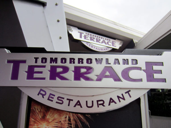 The Tomorrowland Terrace is also only open at certain times, but it's a great viewing spot for fireworks!
