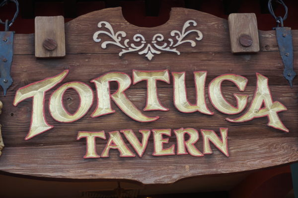 Tortuga Tavern is only open during certain times, but you can get your turkey leg fix here!