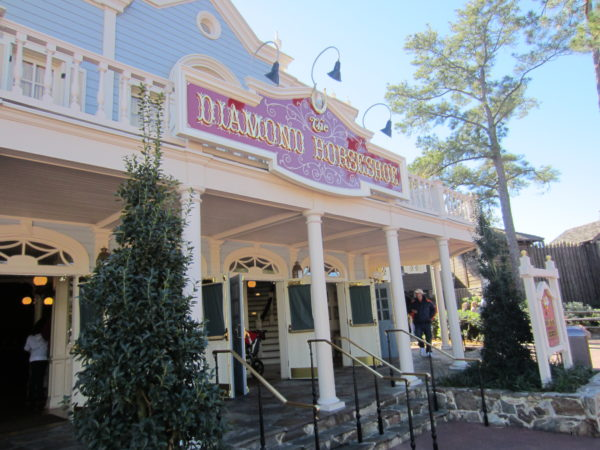 The Diamond Horseshoe didn't fare so well on the list, but you can get a lot of food if you do choose to eat here when they're open!
